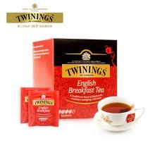 川宁(TWININGS)英式早餐红茶 2g*10袋/盒