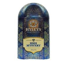 豪伦思(HYLEYS)一千零一夜玫瑰果味红茶旅行铁盒 100g/盒