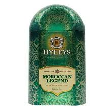 豪伦思(HYLEYS)摩洛哥传奇薄荷玫瑰绿茶旅行铁盒 100g/盒