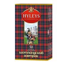 豪伦思(HYLEYS)苏格兰早餐红茶 1.5克*50包/盒