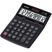 卡西欧(CASIO)DZ-12S 电子台式财务会计计算器 中号黑色