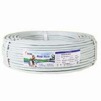 远东 RVV2*1 2芯软护套铜芯多股电线 100米 白色