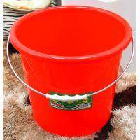 桂凤 38#无盖手提加厚水桶 直径38cm 高30cm 红色