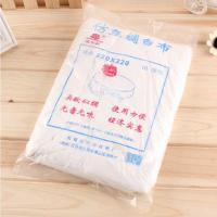 牡红丹 加厚款仿丝绸白色台布 220*220cm 10张/包