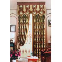 布谷鸟 XC3501 家装欧式提花布艺窗帘 每平方米售价 花色下单请备注