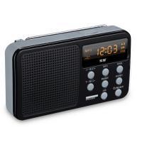 索爱(soaiy)F2 插卡式迷你数码收音机 睿智黑收音机