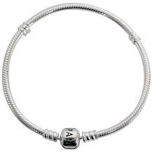 潘多拉(PANDORA)590702HV-17 Silver 蛇链基础手链