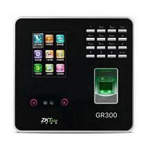 中控智慧(ZKTeco)GR300 刷卡机 2.8吋显示屏 人脸识别+指纹+密码三合一 一年保修