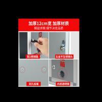 祥宇(XiangYu)大号铝合金意见箱 双透明镜回弹式入口 32cm*26cm 附两把钥匙 银灰色