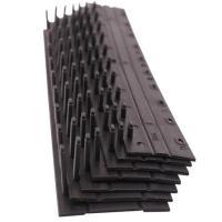 光达(GD)10孔装订夹条压边条3mm 黑色 100根/盒