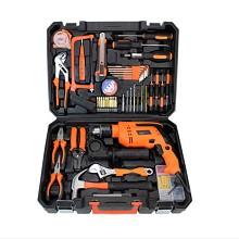 慕缘 007-1 五金工具箱 电钻工具套装(25件)