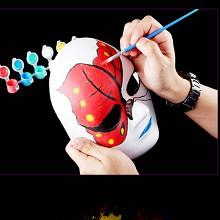 览日鸟 纸浆脸谱 DIY手绘纸浆脸谱十个起送 纯白色