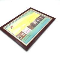 雅利达 4K木纹镜框 营业执照框 画框