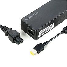 联想(Lenovo)原装 电源适配器 笔记本充电器 电源线 thinkpad电脑充电线 20V4.5A 90W方口 单套