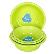 茶花(CHAHUA)0505 塑料盆 27CM 蓝色
