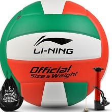 李宁(LI-NING)005-1 PU材质排球室内外通用沙滩球比赛排球