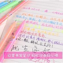 斯图(sitoo) 花花姑娘 彩色闪光笔48色