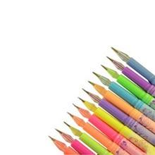 斯图(sitoo)12色 24色 36色 闪光笔单支装随机发