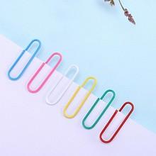 三木(SUNWOOD)8104 彩色回形针 100枚/盒 10盒装