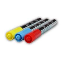 卡文(KAWEN)PT-1080荧光板荧光笔粗笔4mm荧光板专用圆头笔芯单头8色一盒