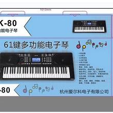 爱尔科(ECHO)ARK-80 电子琴 61键多功能电子琴