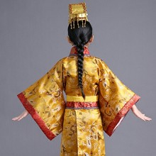 TAIKOO 儿童古装 唐朝太子汉朝皇帝皇上表演服装