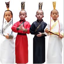 TAIKOO 武将古装 幼儿古装男童汉服演出服 尺码可选