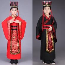 TAIKOO 儿童古装 汉朝大臣古代演出服装