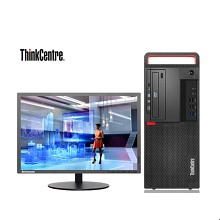 联想(lenovo)ThinkCentre M720t-D224 商用台式电脑 I5-8500 4G内存 1T硬盘 集成显卡 无光驱 DOS系统 21.5显示器 一年质保 黑色