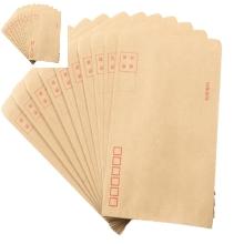 正彩(ZNCI)牛皮纸信封袋 一包100个 11*23cm