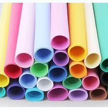 斯圖 兒童學生DIY手工海綿紙 泡沫紙40*40cm 混色 10張/包