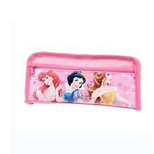 迪士尼 铅笔袋 女童卡通学生文具收纳袋