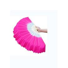 梦多福 舞蹈扇子 广场舞双面加长儿童成人演出扭秧歌扇子 扇子出头一尺长
