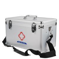 朝阳 铝合金急救箱金医疗箱  16寸 含30种急救用品配置