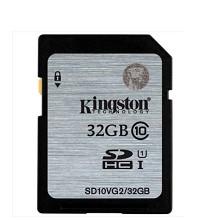 金士顿 SD10VG2 SD卡 32GB相机卡 Classs10