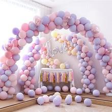 灰姑娘 气球拱门支架 可折叠拆卸充气气球拱门气球架子 底座带杆子