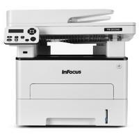 富可视(InFocus)FM-2833ND 黑白激光A4多功能一体机 办公家用 官方标配 白色