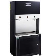 愉升 YS-RO400 饮水器 柜式商用直饮机 120L 二开一直饮 黑色