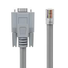 优越者(UNITEK)C715GY 串口母转RJ45交换机转换线1.5米 华为思科console 配置线CISCO/H3C交换机通信线调试线