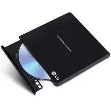 LG 外置DVD光驱刻录机 USB2.0接口 黑色