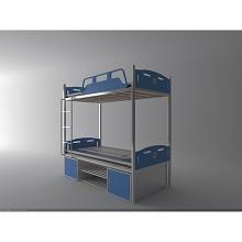 优茂 UM-B0002铁艺上下铺床 床类