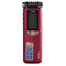 乐图(lotoo)LS-50 录音笔 16G 广播级音频高清 降噪 无损音乐采访机 红色