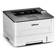 富可视(InFocus)FP-1833ND A4黑白激光打印机 白色 官方标配