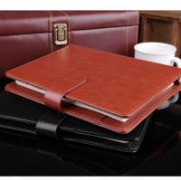 博文(bowen)7810 B5 新款暗吸扣活页本 商务办公笔记本 棕色