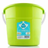 茶花 塑料桶水桶31CM通用家务清洁洗钓鱼12.2L 单个