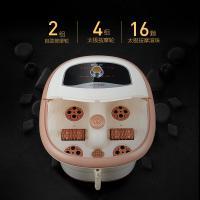 美妙(Mimir)MM-8866 足浴盆 足浴按摩器 全自动按摩 单个 杏色旋钮款