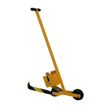安赛瑞 11680 胶带划线车 地面胶带划线辅助车 划线推车 1个 黄色