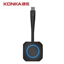 康佳 (KONKA) XM01 会议一体机 无线传屏器 黑色