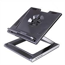 安尚(ACTTO)NBS-07H 黑钻至冷笔记本电脑扩展坞 黑色