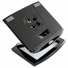 安尚(ACTTO)NBS-09 小旋风笔记本电脑散热架 黑色